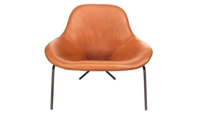 <strong>THE CONRAN SHOP|ザ・コンランショップ</strong><br />「マグナス・ロング(Magnus long)家具シリーズ」 椅子「Cross Leg Lounge Chair」(W900×D900×H790mm)31万3200円