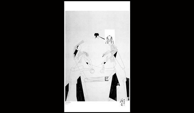 <strong>第17回亀倉雄策賞</strong><br />受賞者:佐野研二郎<br />受賞作品:デザインイベントの企画展出品ポスター「HOKUSAI_LINE」(クライアント:TOKYO DESIGN WEEK)