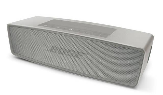 <strong>BOSE|ボーズ</strong><br />ワイヤレススピーカー「SoundLink&reg; Mini Bluetooth&reg; speaker &#8545;」 アルミ押し出し成型による堅牢性と、ビーズブラスト仕上げによるシックな質感を両立
