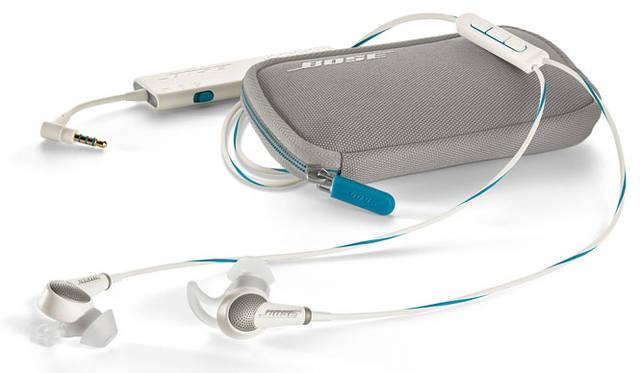 <strong>BOSE|ボーズ</strong><br />インイヤー型ノイズキャンセリング・ヘッドホン「Bose&#8482; QuietComfort&reg; 20 Acoustic Noise Cancelling headphones」 ハウジングの外側と内側に、周囲の騒音を検知する2つの超小型高性能マイクを搭載
