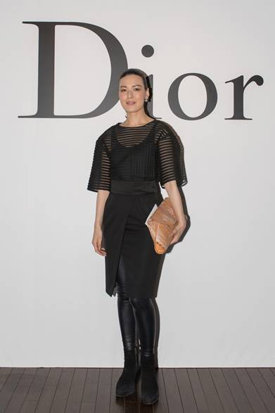 諏訪綾子 Photo by Jun Sato/Getty Images for Dior