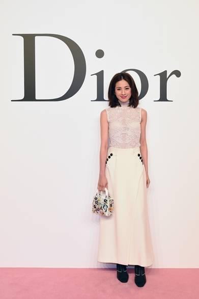 高垣麗子 Photo by Jun Sato/Getty Images for Dior