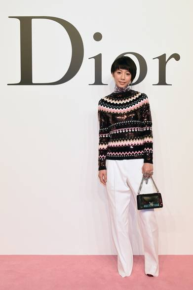 夏帆 Photo by Jun Sato/Getty Images for Dior