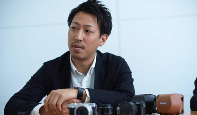 ニコン映像事業部 デザイン部の小林達也さん