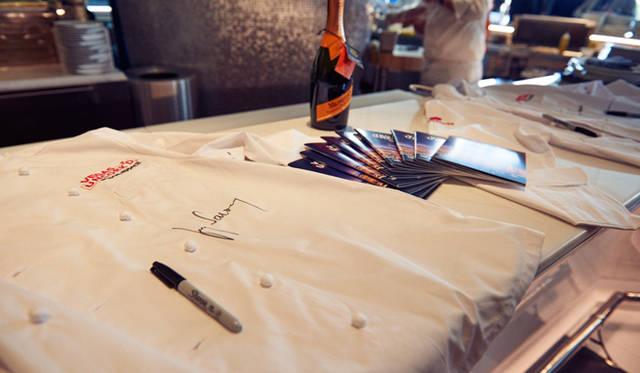 アンコルクドの初日、祭典のはじまりを告げるキックオフイベントは、噴水ショーで有名なホテル「ベラージオ」でおこなわれた