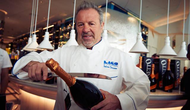 「ラゴ」はラスベガスでもっとも有名なシェフのひとり、ジュリアン・セラーノ氏による初のイタリアン・レストラン