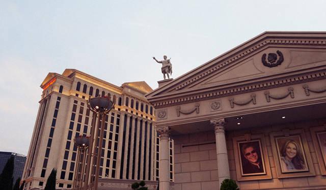 「グランド・テイスティング」の舞台、「シーザーズ・パレス」は巨大ホテルが立ち並ぶラスベガスのなかでも、とくにスケールが大きい