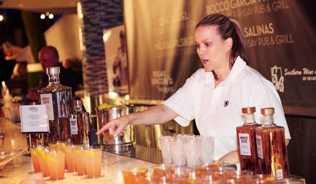 """ワインボトルを開けることを意味する""""Uncork'd""""から名前をつけた祭典だけあって、料理に合うお酒も充実"""