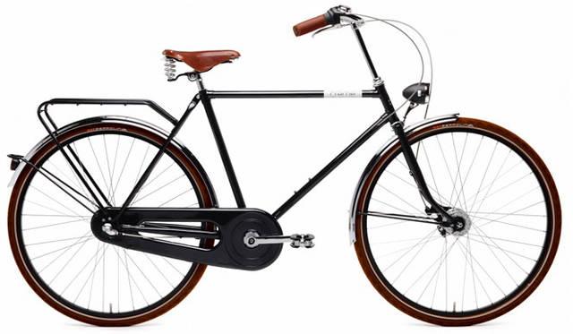 <strong>Creme Cycles|クレム・サイクルズ</strong><br />CREME CYCLES 2015<br />ヴィンテージテイストとモダンタッチを兼ね備えた、美しくクラシックなホーリーモーリー・ドッピオ・メン。ダイナモパワーライトをフロントとリアに装備。Brooks社製レザーサドルとクロムメッキのコンポーネントが、このモデルをさらに魅力的にする。「HOLYMOLY DOPPIO MAN」(black)14万400円