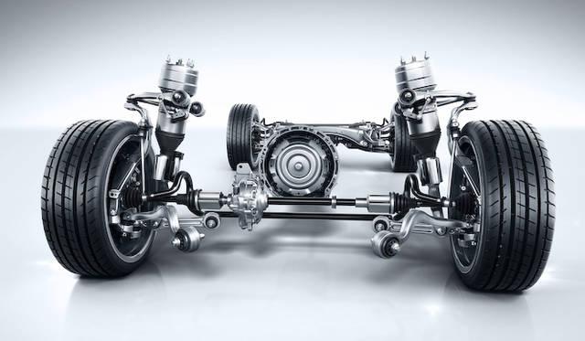マルチチャンバーエアサスペンションシステム「AIRMATIC」搭載車のパワートレーン