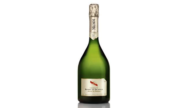 <strong>G.H.MUMM|G.H.マム</strong><br />G.H.MUMM Blanc de Blancs- MUMM de Cramant  (G.H.マム ブランド・ド・ブランーマム ド クラマン)1万2700円(税抜き)