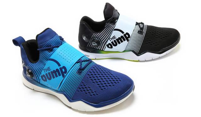 <strong>Reebok リーボック</strong><br />ジーポンプ フュージョンのテクノロジーを搭載した「Training Pump(トレーニング ポンプ)」(8月1日発売)各1万5120円