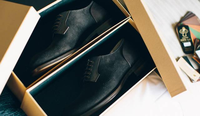 箱を分けた理由についてパオロさんは「靴と靴がぶつかるだけでも摩擦が起きるので、ひとつひとつを大切にするため」と説明する。