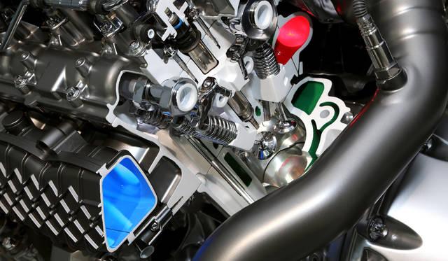 エンジンカットモデル