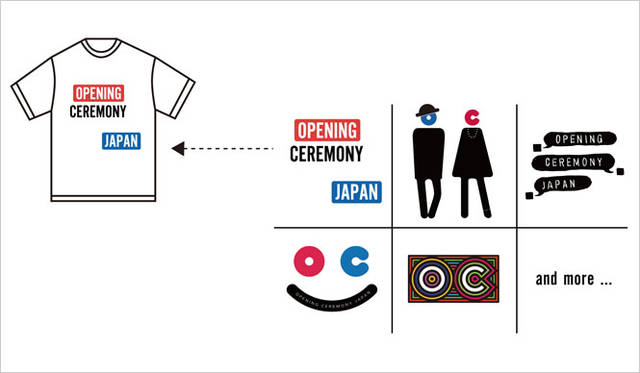 <strong>OPENING CEREMONY|オープニングセレモニー</strong><br />「OPENING CEREMONY」Tシャツ各6480円