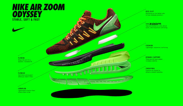 <strong>NIKE|ナイキ</strong><br />「NIKE AIR ZOOM ODYSSEY(ナイキ エア ズーム オデッセイ)
