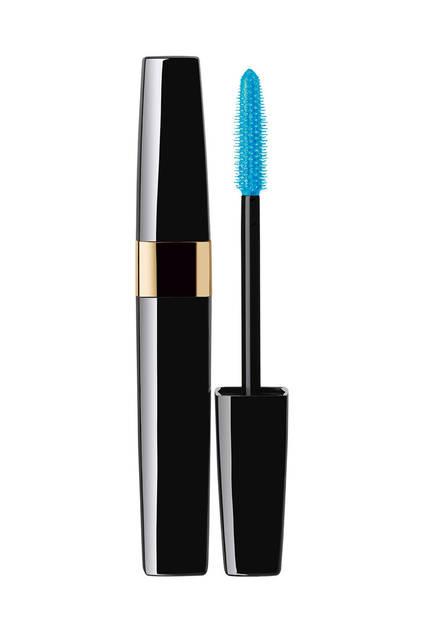 <strong>CHANEL|シャネル</strong><br />「Blue Rhythm de Chanel(ブルー リズム ドゥ シャネル)」 マスカラ/トップコート「スィル サンティヤン ジャジーブルー」(特別限定品)4536円