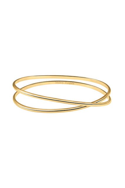 Twisted Yellow Gold Bracelet