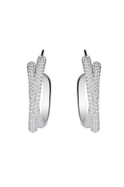 Twisted Diamond Earrings