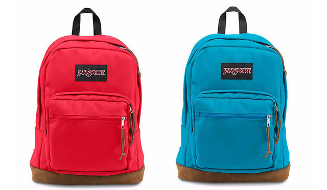 <strong>JanSport|ジャンスポーツ</strong><br />「RIGHT PACK(ライトパック)」ニューカラー 問い合わせ先 ストリームズジャパン Tel. 03-6459-2780