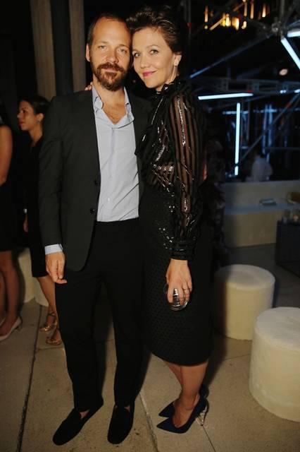 (左より)Peter Sarsgaard & Maggie Gyllenhaal |ピーター・サースガード&マギー・ジレンホール