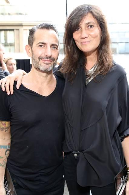 (左より)Marc Jacobs & Emmanuelle Alt|マーク・ジェイコブス&エマニュエル・アルト