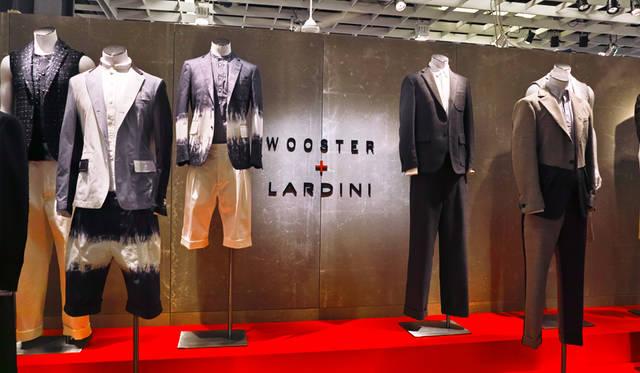 ファッション ディレクターのニック・ウースター氏とのライン