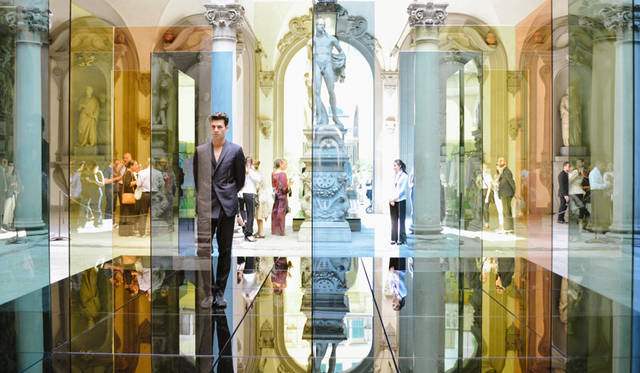 「Carlo Brandelli for Kilgour」プレゼンテーション会場のメディチ・リッカルディ宮殿より<br/>©Pitti Immagine