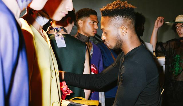 今回のピッティ・ウオモの招待国であるアフリカ。4組のデザイナーがショーを披露した<br/>©Pitti Immagine