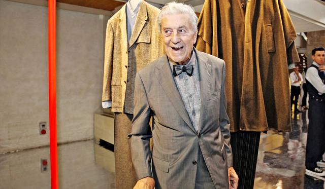 イタリアのメンズファッションの中心人物として君臨してきたチェルッティ氏の功績を称え、アイデアとスタイルに捧げられた「Nino Cerruti」初のエキシビション「Il Signor Nino」会場より<br/>©Pitti Immagine