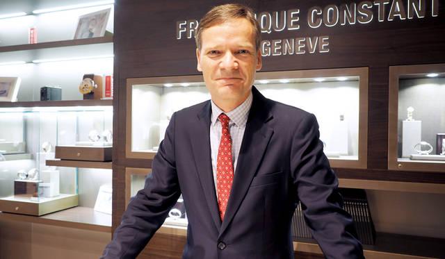 フレデリック・コンスタントの創業者でありCEOのピーター・スターツ氏