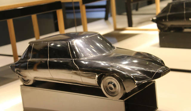 いずれのスケールモデルも、シトロエン歴史資料館の秘蔵品である