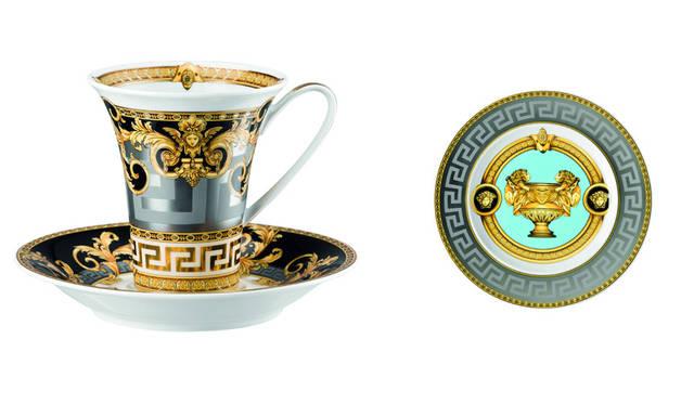 <strong>VERSACE ヴェルサーチ</strong><br />「VERSACE HOME 銀座店」 最新テーブルウェア「Prestige Gala」