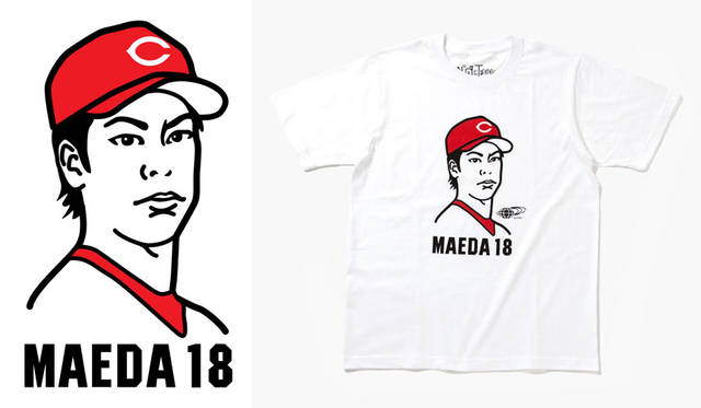 <strong>BEAMS|ビームス</strong><br />ビームス×広島東洋カープ×NuGgETEE 「MAEDA 18」(S、M、L、XL)6480円