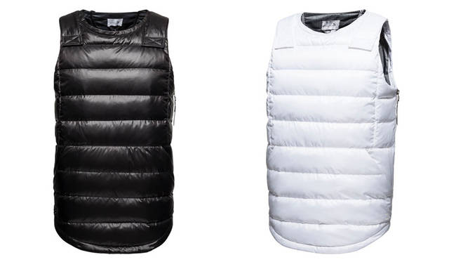 <strong>PUMA|プーマ</strong><br />PUMA×STAMPD「STAMPD Athletics by PUMA」 Stampd Nylon Vest 各3万7800円