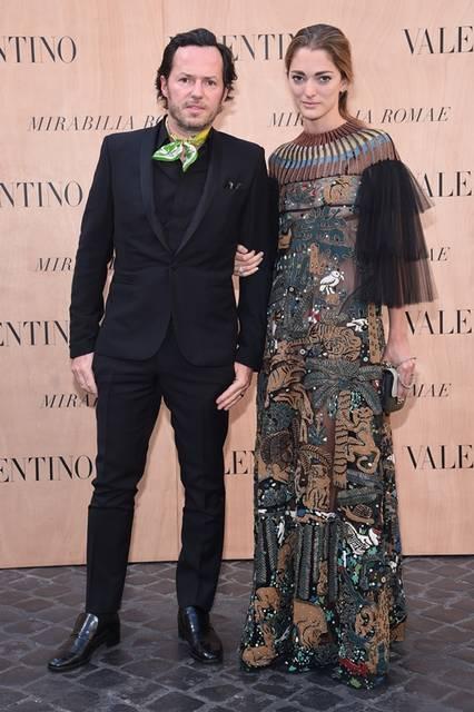 (左より)Alexandre De Betak & Sofia Sanchez Barrenechea|