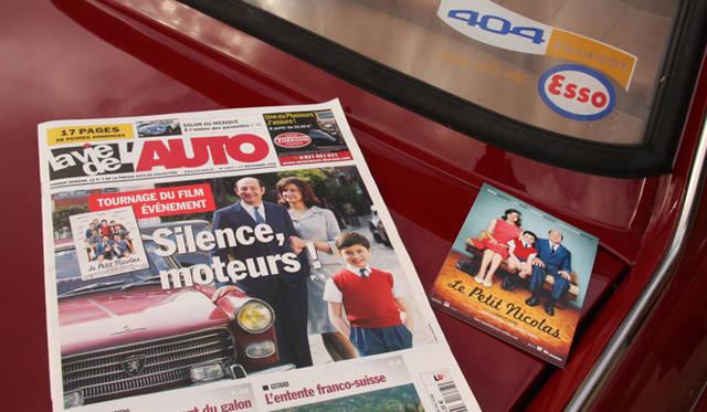ディディエ氏のプジョー404は、2009年のフランス映画『プチ・ニコラ』の劇中車として使われた。