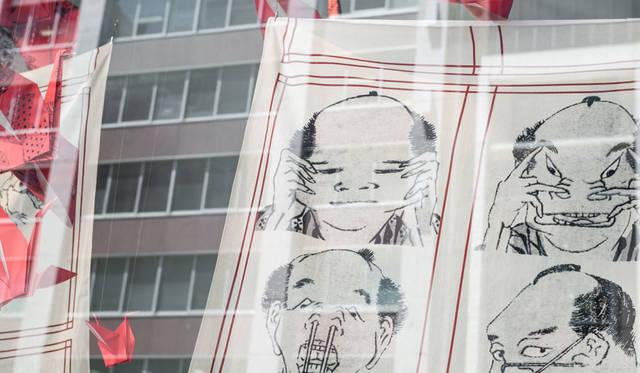 <strong>MITSUKOSHI 日本橋三越本店</strong><br />日本橋三越ウィンドウ百景「A TIMELESS VISION ―創造のまなざし時を超える―」