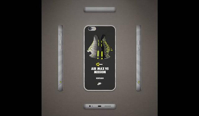 <strong>NIKE SPORTSWEAR|ナイキ スポーツウェア</strong><br />スマートフォンを使った参加型イベント「AIR MAX 95 MISSION」 スコアTOP16~25(10名)「オリジナル・スマートフォンケース」