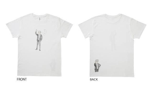 <strong>おかえり教授!Tシャツ</strong><br /> カラー|ホワイト/ヘザーグレー<br /> サイズ|S/M/L/XL<br /> 価格|3900円 ※サンキュー価格<br />