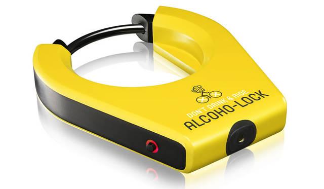 <strong>KOOWHO|コーフー</strong><br />アルコール検出機能付き自転車ロック「ALCOHO-LOCK(アルコホロック)」イメージ