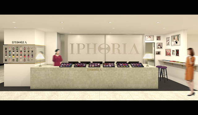 <strong>IPHORIA|アイフォリア</strong><br />新宿「ルミネエスト」1階 アイフォリア直営店イメージ