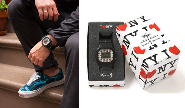 <strong>JOURNAL STANDARD|ジャーナルスタンダード</strong><br />DQM NYC×G-SHOCK×JOURNAL STANDARD「DQM for Journal Standard G-Shock DW5600」