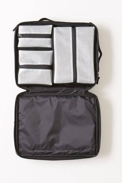 <strong>TOMORROWLAND|トゥモローランド</strong><br />「トゥモローランド 京都BAL店」別注・限定アイテム メンズ「BAGJACK」 3-WAY TRAVELLER XS 5万8320円