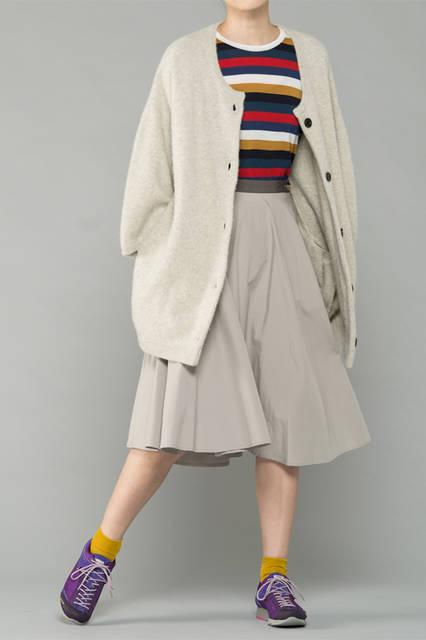 """<strong>WOMEN'S SPORT STYLE</strong><br />ボヘミアン風のコーディネートにシティトレッキングを合わせたスポーツスタイル。服と靴のギャップがデイリーな装いをクラスアップ。<br /> <a href=""""/gallery/1321766/41"""" class=""""link_underline"""">靴 1万8360円 </a>"""