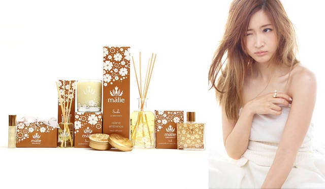 <strong>Malie Organics|マリエオーガニクス</strong><br />コラボレーション新コレクション「Special Collection for Saeko」と紗栄子さん