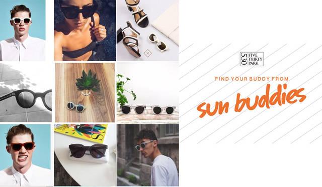 "<strong>530PARK|530パーク</strong><br />本イベントがスタートする8月28日(金)から9月4日(金)まで、サングラスを手に入れることのできるインスタグラムキャンペーン「530PARK presents ""Find your buddy from sunbuddies""Instagramキャンペーン」を開催"
