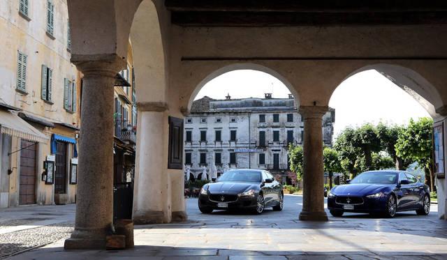 Maserati Quattroporte|マセラティ クアトロポルテ(左)、Maserati Ghibli|マセラティ ギブリ(右)