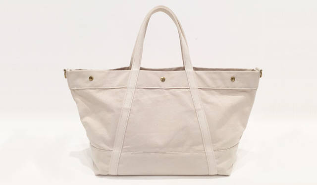 <strong>edit & co.|エディット アンド コー</strong><br />トートバッグ「CANVAS」ラージサイズ(Natural)