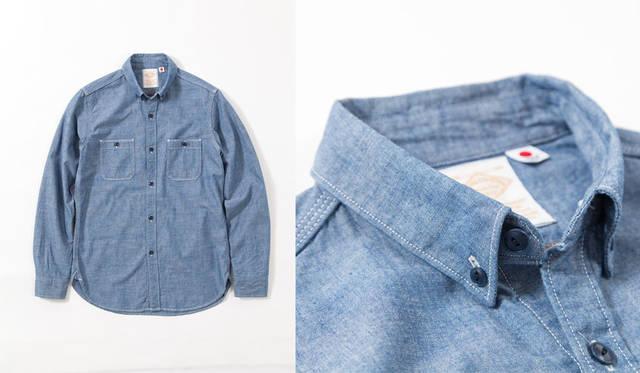 <strong>B:MING LIFE STORE|ビーミング ライフストア</strong><br />ベーシックアイテムシリーズ「B:MING BEST BASIC」 Chambray Shirts メンズ1万260円